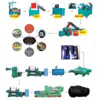 Buy cheap Reclaimed Rubber Production Line,Reclaimed Rubber Making Line,Rubber Refining Mill,Reclaimed Rubber Making Plant from wholesalers