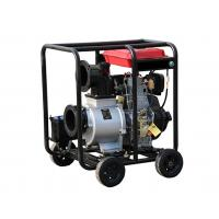 Movable 6 Inch Diesel Powered Water Pump 4 Stroke TW192 WP60D135HP Manufactures