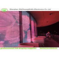 High brightness 1r1g1b transparent led panel screen with 15.63mm pixel pitch Manufactures