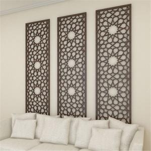 New design Decorative wall panel powder coating aluminum screen metal panel Manufactures