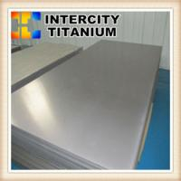 China Cold Rolled and Pickled ASTM B265 grade12 titanium sheet metal on sale