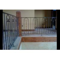 Decorative Stairs and Railings Wrought Iron Handrails Manufactures