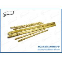 China Copper Tungsten Carbide Welding Wire / Durable Tungsten Welding Rod on sale