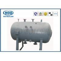 Non Toxic Floor Standing Boiler Steam Drum For CFB Boiler Corrosion Resistance Manufactures
