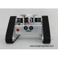 China KR0002 Tri-Tracked Tank Robot Kit with Ultrasonic Sensors on sale