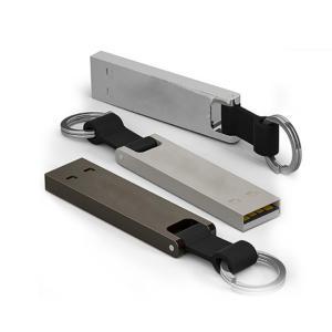 China 2019 New Mini USB Thumb Drive 32Gb Metal Pen drive with Keyring on sale