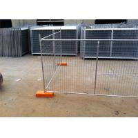 14 Microns Standard Secure Temporary Fencing Building Site Security Fencing Manufactures