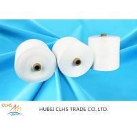 Heat Setting Finished Sewing Thread Yarn , 60 / 2 60 / 3 Ring Spun Polyester Twisted Yarn Manufactures