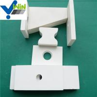 Wear resistant white alumina ceramic tiles with density 3.6g/cm3 Manufactures