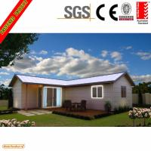 China high quality light steel villa modular homes design 63sqm prefab house on sale