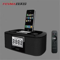 FM Radio Speaker for iphone/ipod/Portable Speaker with Alarm Clock Manufactures