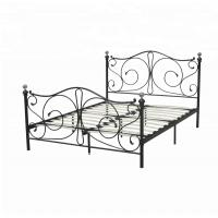 China Home Furniture Slat Support Bed , Knock Down Bed Frame Smooth Finish Edges on sale