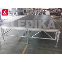 China High Denify Panel Aluminum Stage Platform / Wedding Portable Stage Truss on sale