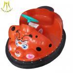 Hansel kids outdoor amusement park for sales plastic bumper car 24 volt ride on car Manufactures