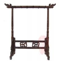 Chinese calligraphy brush pen holder brush pen stand wooden pen rack stand pen kits Manufactures