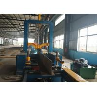 Horizontal Assembly H Beam Flange Straightening Machine Welding Line SGS Manufactures