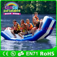 Inflatable floating water seesaw pool seesaw for toddlers inflatable floating water game Manufactures