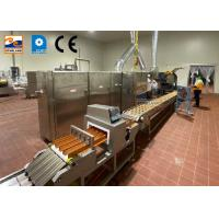 China Commercial Cone Biscuits Machine Rolled Wafer Machine Ice Cream Cone Product Line on sale