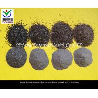 Refractory Material Brown Fused Aluminum Oxide Granules With Strong Liquidity Manufactures