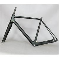 Lightweight Carbon Cyclocross Frameset , Road Cx Disc Brake Cyclocross Frame And Fork Manufactures