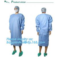China Sterile Disposable Surgical Gown,Long sleeves disposable hospital isolation gowns,Manufacturer Supplier surgical gown ma on sale