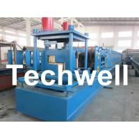 Customized Steel Z Shaped Purlin / Z Channel Roll Forming Machine TW-Z300 Manufactures
