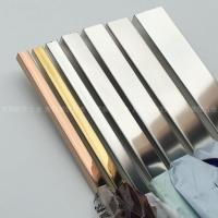 Polished Finishes Matt Stainless Steel Trim Strip 201 304 316 Manufactures
