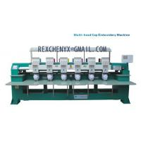 Quality Six heads T-shirt cap embroidery machine/Multi-head Cap/Garment Embroidery Machine for sale