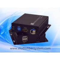 Buy cheap 4K KVM fiber optic extender for 1ch 4K/2K HDMI&USB keyboard&mouse signal or from wholesalers