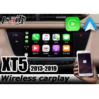 China Wireless carplay CUE system Cadillac XT5 Android auto youtube play video interface by Lsailt Navihome on sale