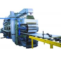 China Continuous PU Sandwich Panel Machine 120 Kw Polyurethane Sandwich Panel Line on sale