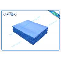 Surgical Polypropylene Medical Cover Sheet / Disposable Waterproof Bed Sheets Manufactures