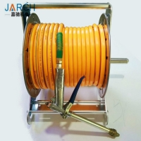 China Metal Connector 5/8 Wall Mounted Water Hose Reel on sale