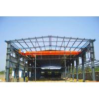 Industrial Steel Frame Buildings / Heavy Duty Metal Workshop Construction Manufactures