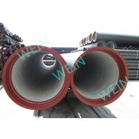 Pipeline Potable Cement Mortar Lining Pipe Centrifugal Cast 5.7M / 6M Length Manufactures