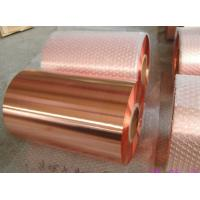 China Rolled Annealed Copper Foil Roll Coated PET Film RA CU Foil Jumbo High Purity on sale