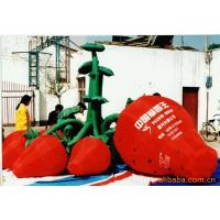 Christmas Decorations  Inflatable Lighting With Inflatable Strawberries Manufactures