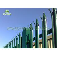 China Commerical Security Metal Palisade Fence Panels, Palisade Security Fencing on sale