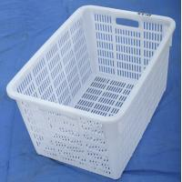 Plastic net crate using fresh fruit , fish crate Manufactures