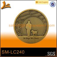 custom metal brass coin Manufactures