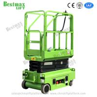 China 5.9m Height 240kg Load Mini Electrical Self Propelled Scissor Lift with CE Certificate for Warehouse on sale