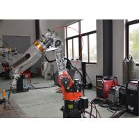 Low Voltage MIG Welding Manipulator , Rotary Table Welding Positioner Equipment Manufactures