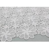 Floral Polyester Lace Fabric Guipure French Venice Lace African Lace Dress Fabric Manufactures