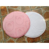 China Microfiber Cleaning Pad made of 80%Pes 20%Pa, round, colorful, with sponge inside on sale