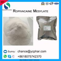 China Amide Local Anesthetic API Ropivacaine Mesylate Powder For Relieve Pain CAS 854056-07-8 on sale
