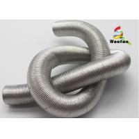 Car engine heat protection, length customized, heat resistant aluminum silver bellow Manufactures