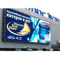 10mm Pixel Pitch Outdoor Led Display Signs Advertising 1/2 Scan Driving Method Manufactures