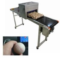 Electric Egg Stamping Machine600 DPI High Resolution With 1 - 4 Printing Lines Manufactures
