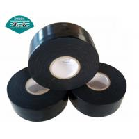 China Underground Black Pipe Wrap Tape With Polydethyelne And Butyl Rubber Adhesive on sale