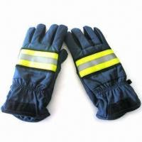 Structural Fire Fighter Gloves, Various Sizes are Available Manufactures